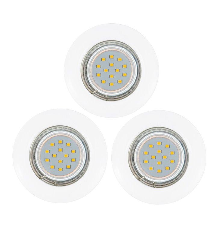 Oprawa punktowa Peneto żarówka LED biała - 3 sztuki w komplecie - DOSTĘPNA OD RĘKI