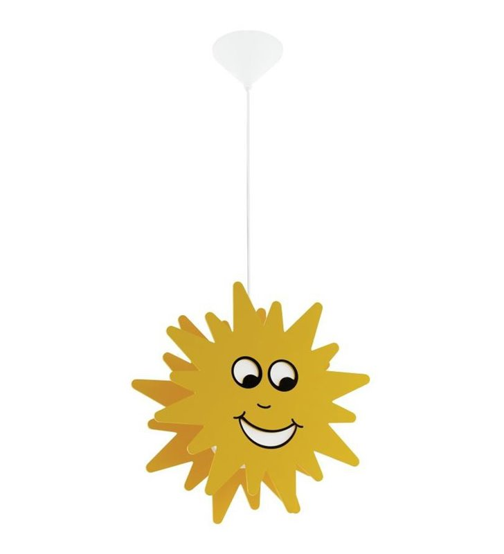 Lampa wisząca do pokoju dziecka słoneczko Junior3