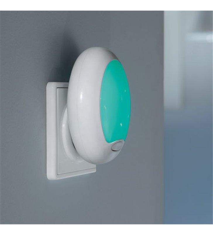 Lampa kinkiet z wtyczką wpinana do gniazdka LED RGB Tineo(4) - DOSTĘPNA OD RĘKI