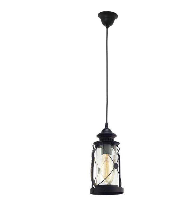 Lampa wisząca Bradford w stylu vintage morskim wisząca latarenka - DOSTĘPNA OD RĘKI
