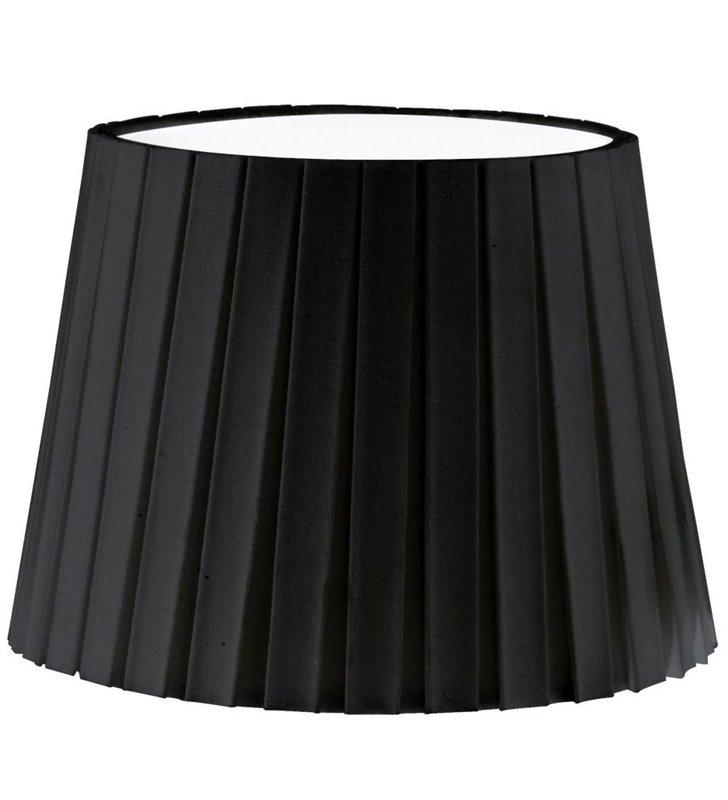 Lampa Vintage(3) - abażur czarny plisowany