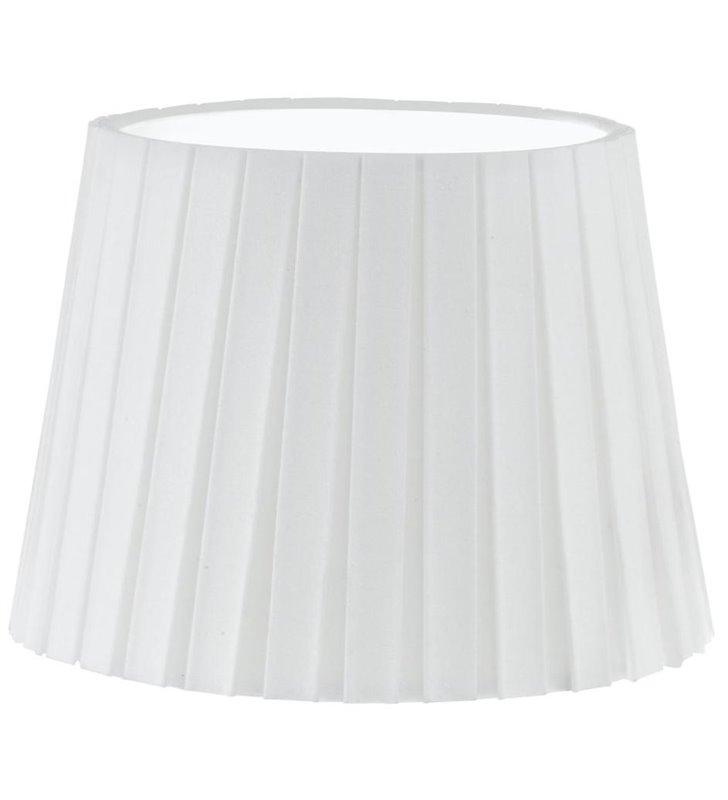 Lampa Vintage(3) - abażur biały plisowany - DOSTĘPNY OD RĘKI