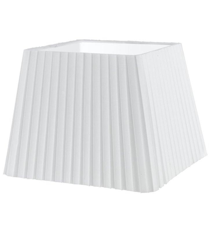 Lampa Vintage(3) - abażur biały plisowany