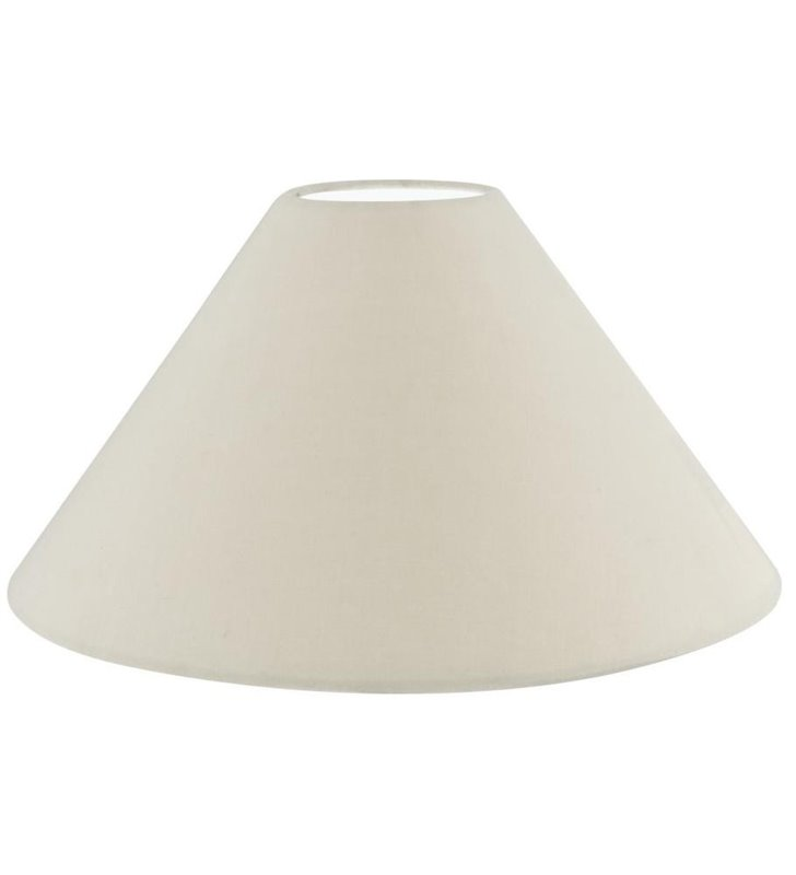 Lampa Vintage(3) - abażur beżowy stożek