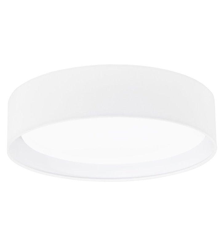 Plafon Pasteri 320 abażur okrągły biały matowy - OD RĘKI