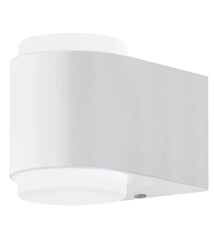 Lampa ścienna do ogrodu Briones nowoczesna w kolorze białym