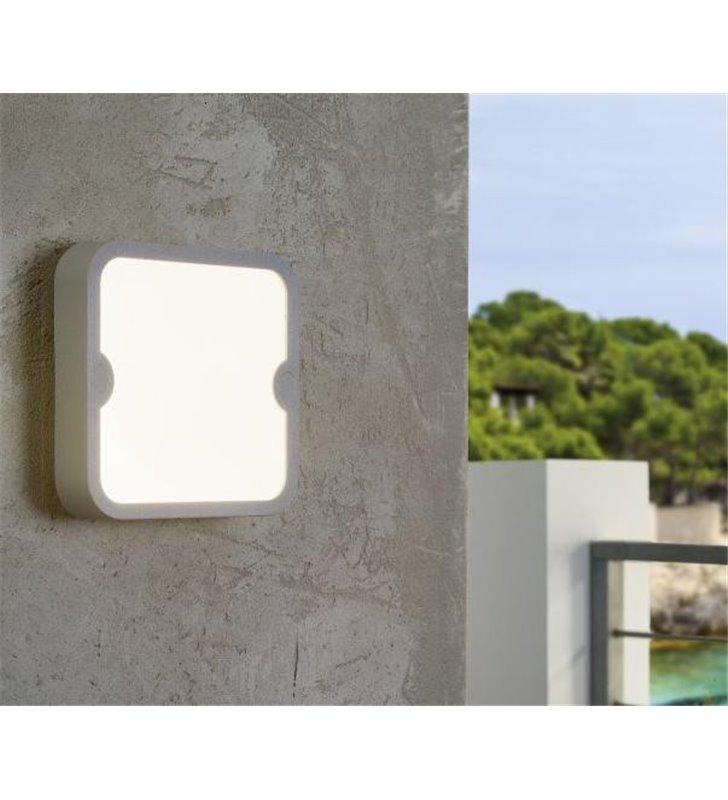 Plafon ogrodowy Alfena-S biały kwadratowy