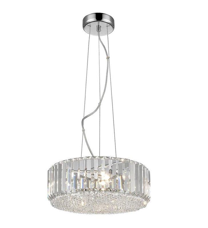 Lampa wisząca Bradley szklana ozdobna