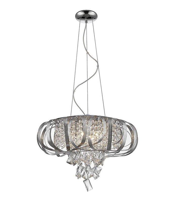 Lampa wisząca Jett z kryształowymi ozdobami