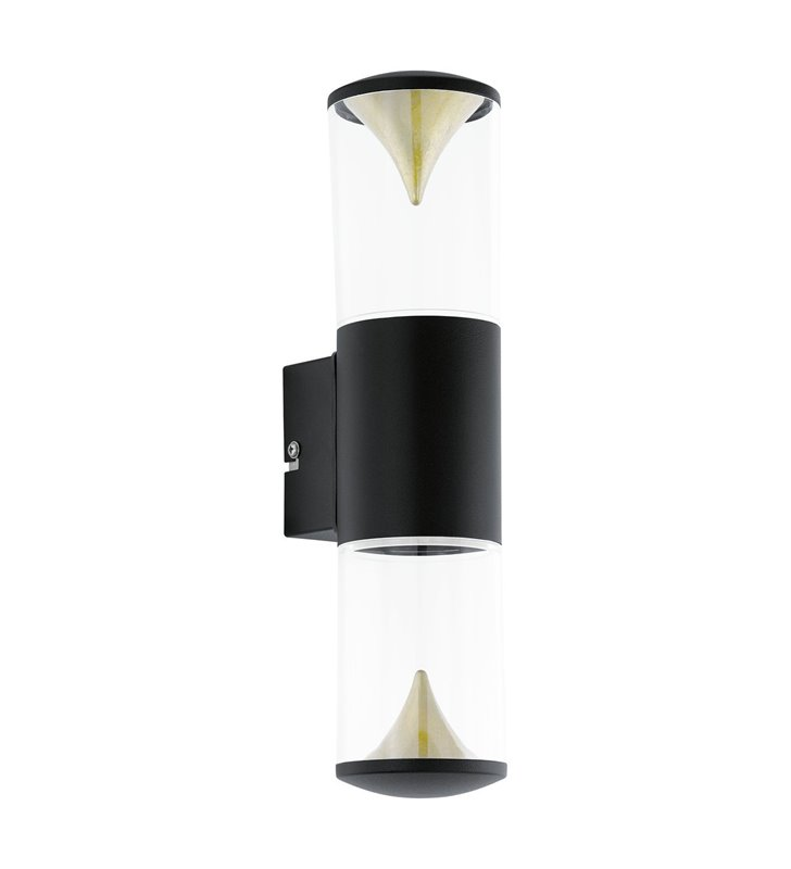 Kinkiet ogrodowy LED czarny Penalva1