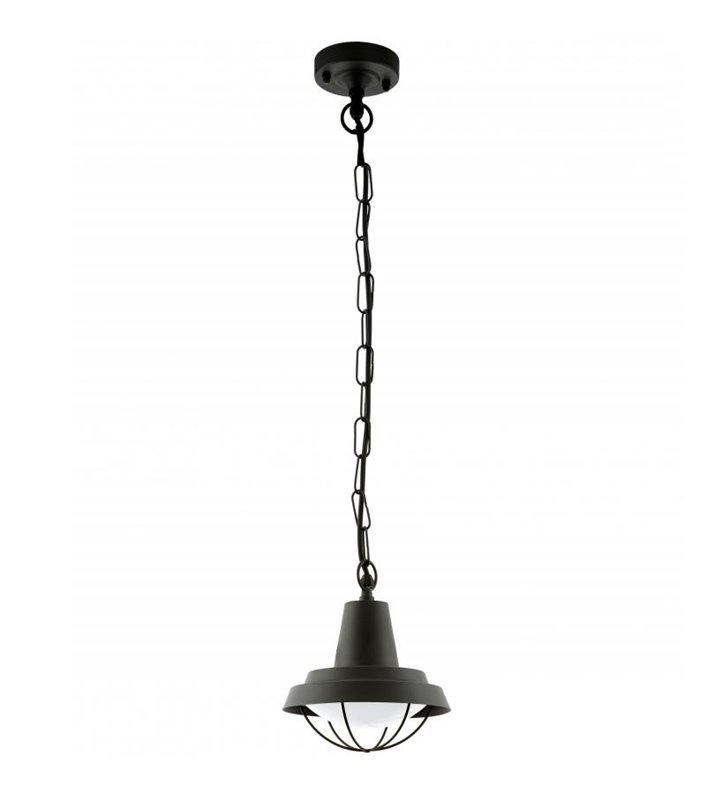 Lampa wisząca do ogrodu Colindres1 czarna