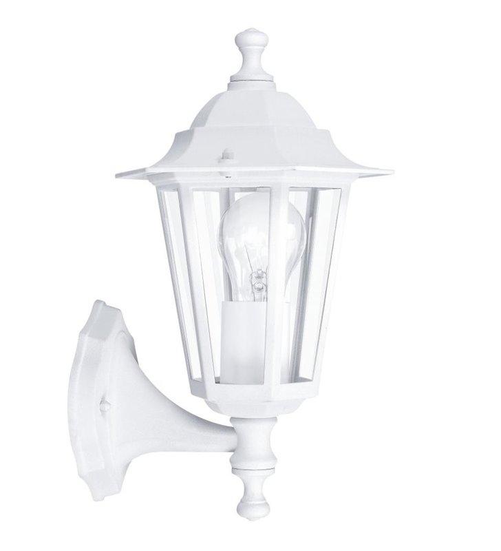 Kinkiet ogrodowy Laterna5 klasyczna biała latarenka