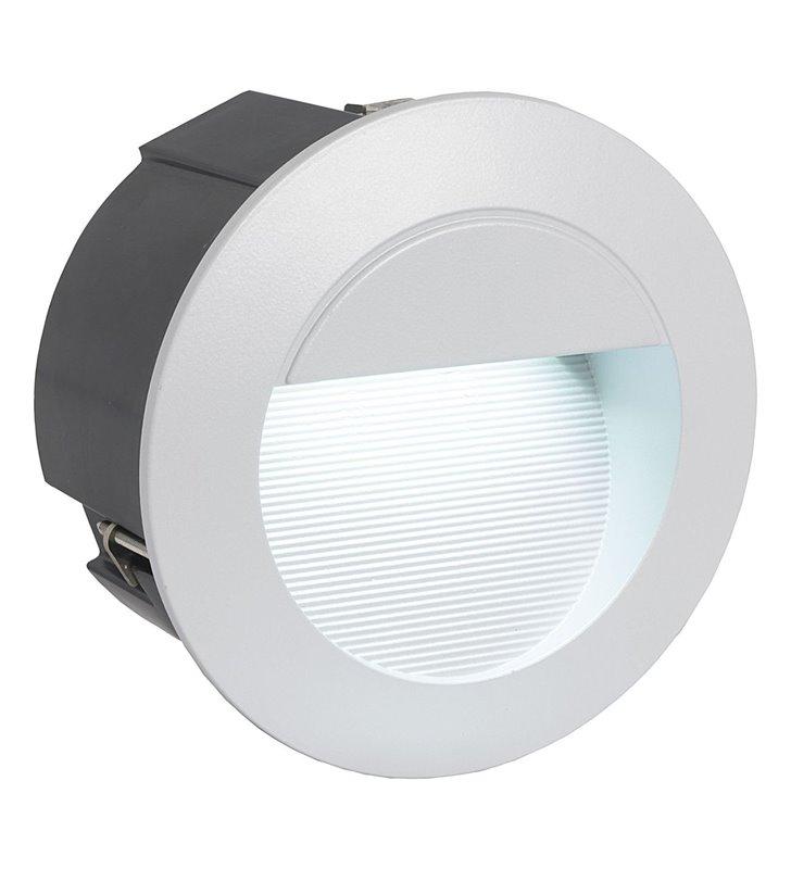 Okrągła lampa zewnętrzna elewacyjna do wbudowania Zimba LED