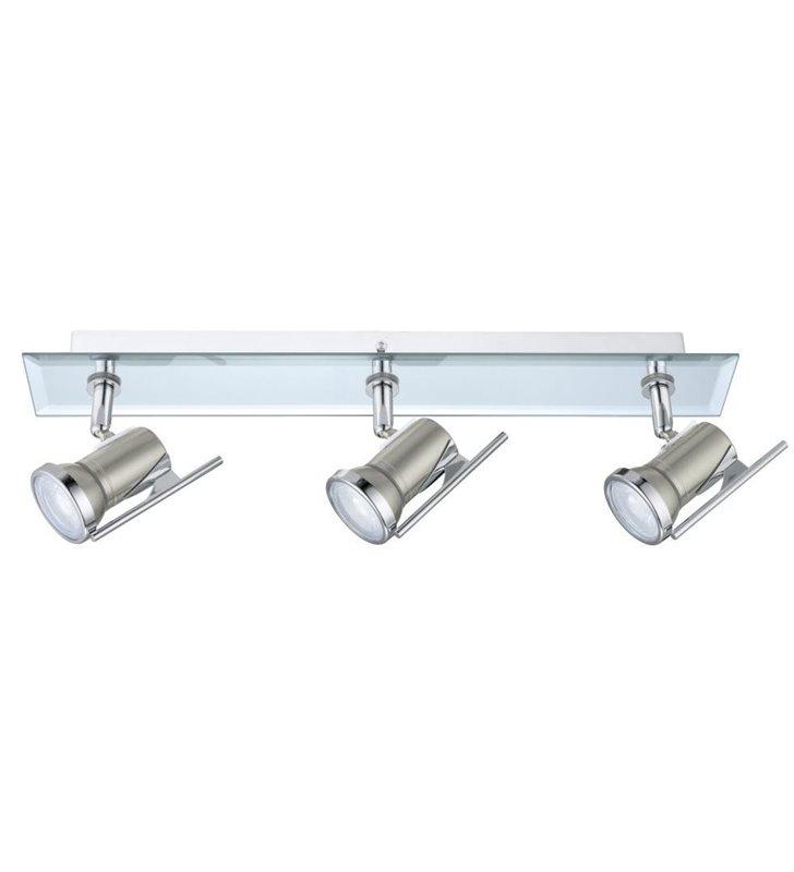 Lampa sufitowa ścienna do łazienki Tamara1 3 punktowa żarówka LED - OD RĘKI