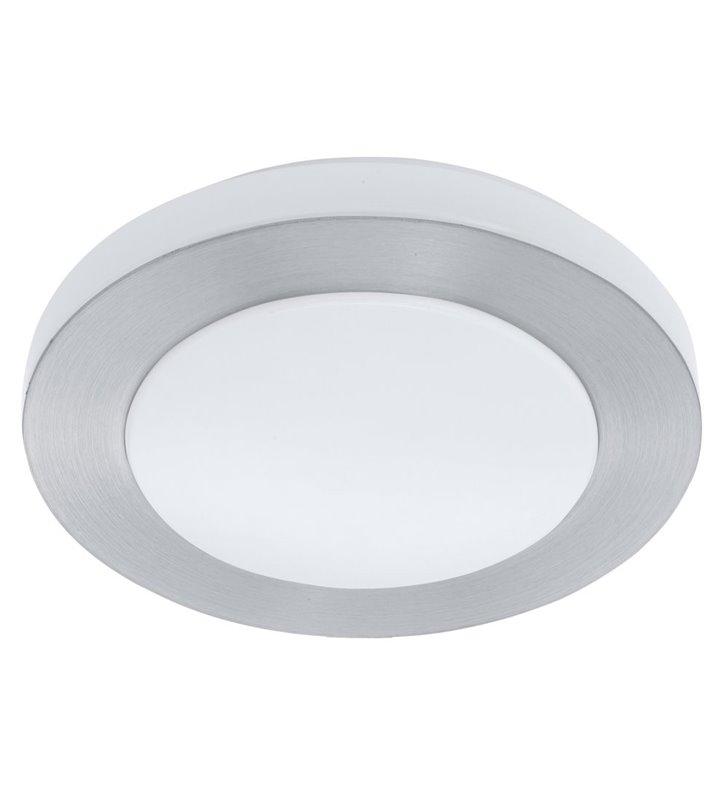 Plafon łazienkowy Carpi 300 LED IP44 okrągły kolor aluminium