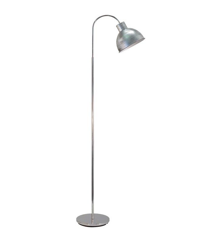 Lampa podłogowa Boleigh nowoczesna metalowa w stylu vintage