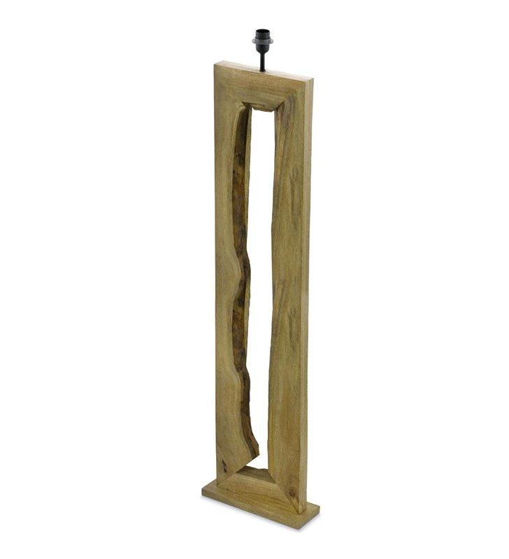 Ribadeo drewniana podstawa lampy podłogowej w stylu vintage