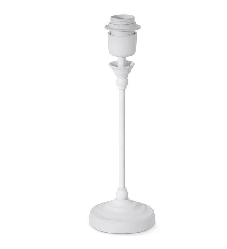 Margate(2) biała podstawa do lampy stołowej