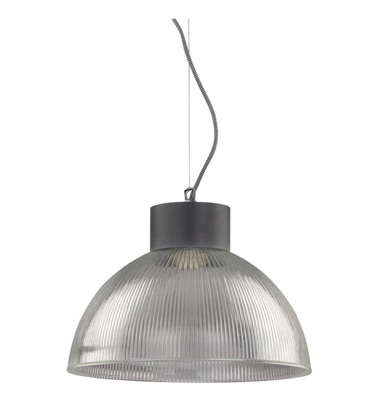 Lampa wisząca Factory klosz szklany do kuchni salonu