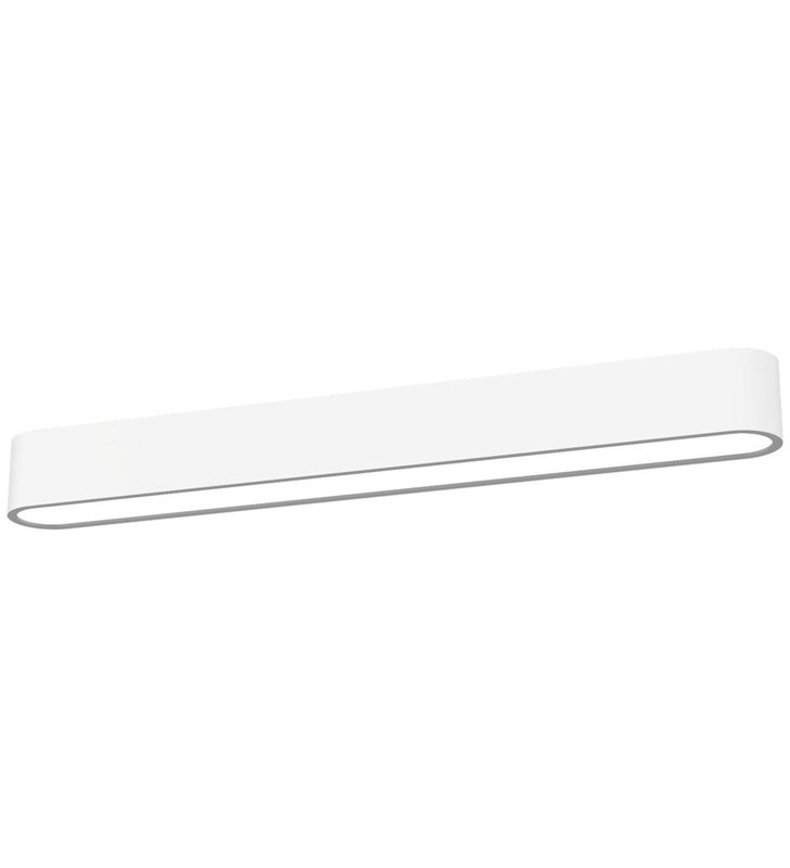 Plafon Soft White LED 60 biały wąski podłużny