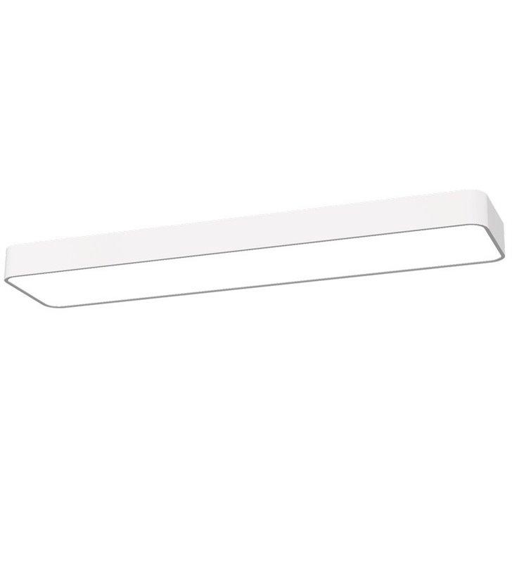 Soft White LED 60x20 biały wąski prostokątny plafon
