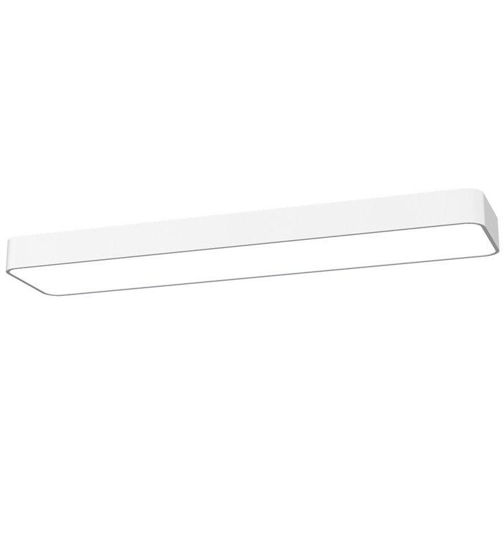 Soft White LED 90x20 biały wąski prostokątny plafon