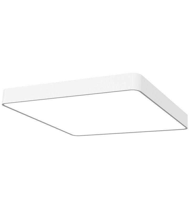 Duży biały plafon kwadratowy Soft White LED 630x630