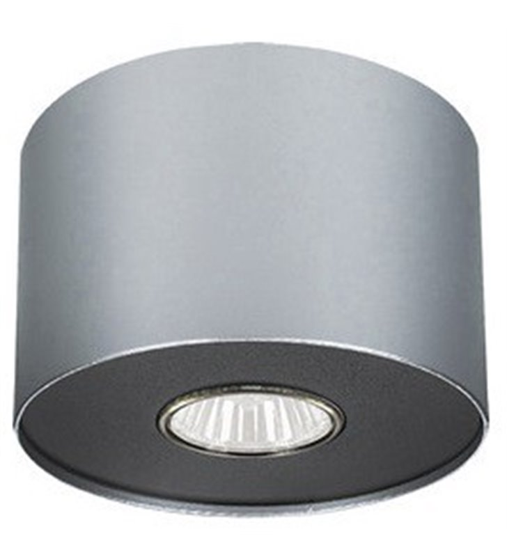 Lampa sufitowa downlight srebrna Point Silver