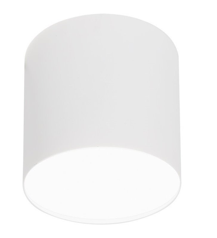 Lampa sufitowa downlight Point Plexi White biała okrągła