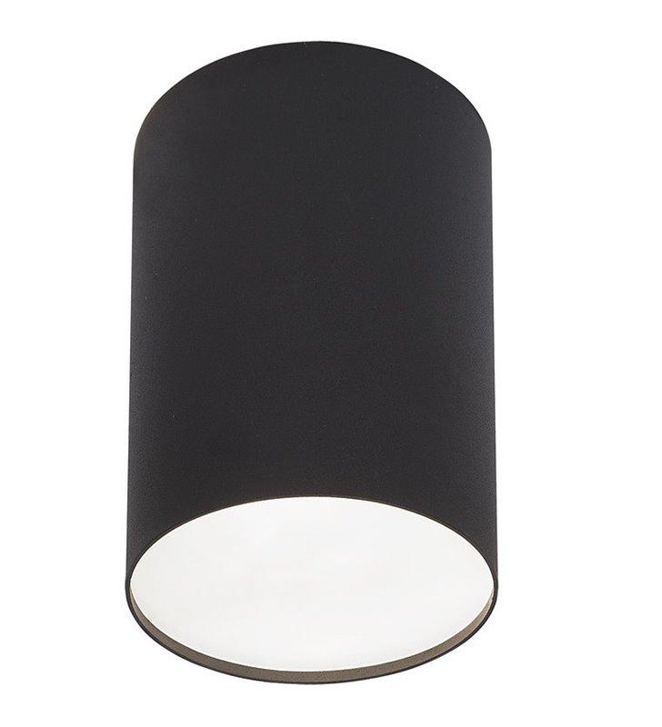 Lampa sufitowa downlight czarna okrągła Point Plexi Black