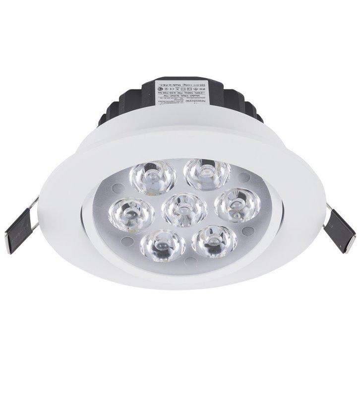 Oprawa punktowa Ceiling LED 7W biała okrągła