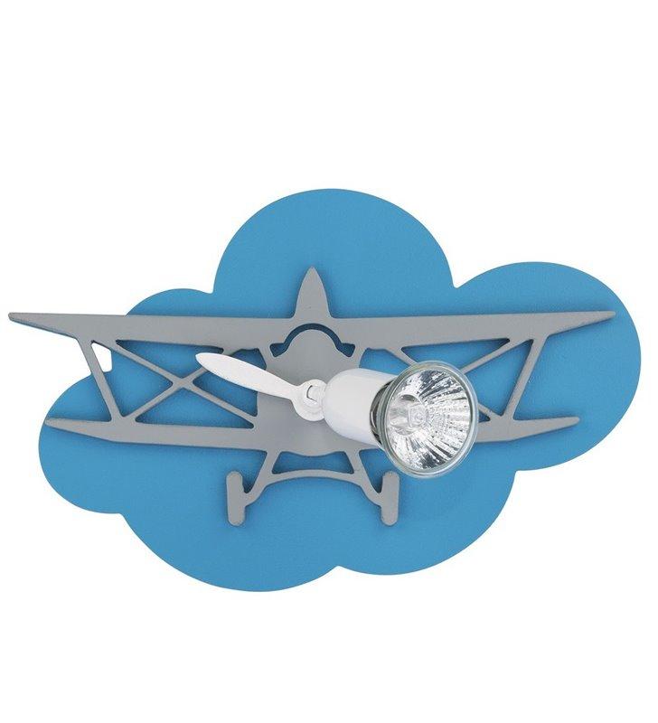 Kinkiet Plane z samolotem do pokoju dziecka