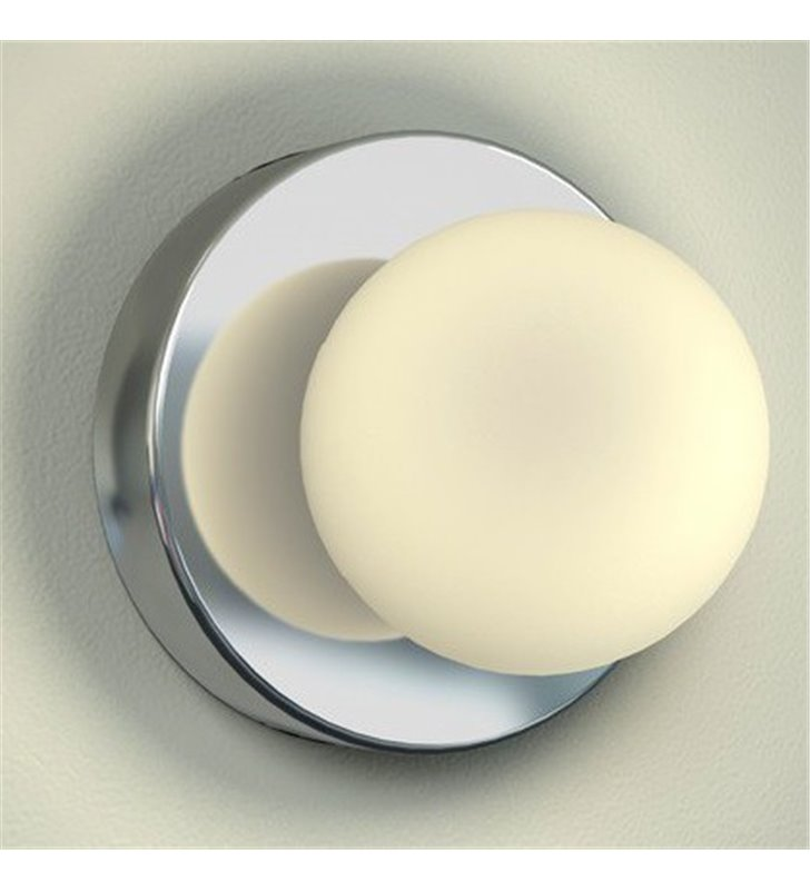 Lampa Brazos do łazienki pojedyncza kula oświetlenie lustra kinkiet łazienkowy IP44