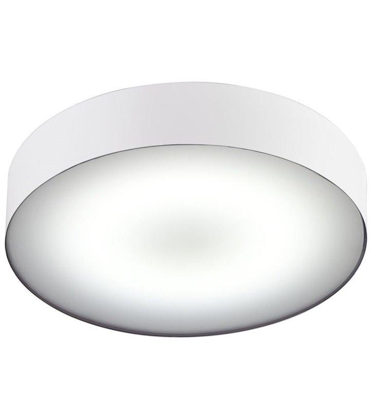 Plafon do łazienki Arena White LED biały okrągły IP44 naturalna barwa światła 4000K - OD RĘKI