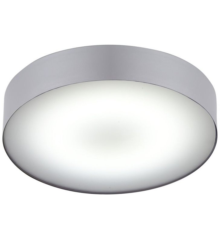 Plafon do łazienki Arena Silver LED srebrny okrągły IP44
