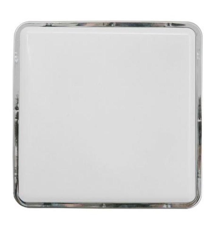 Plafon łazienkowy kwadratowy Tahoe 250 chrom IP65 1xE27