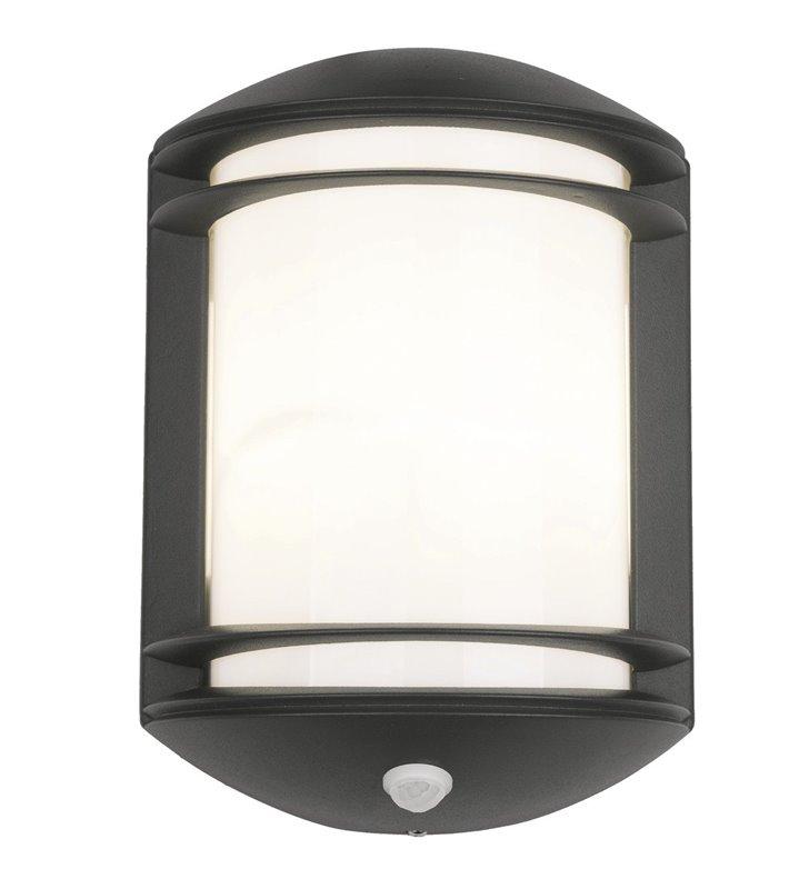 Ścienna lampa ogrodowa Quartz z czujnikiem ruchu