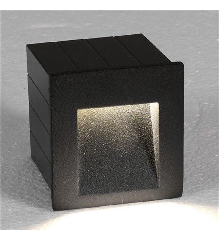Lampa ogrodowa ścienna do wbudowania Step LED Graphite grafitowa nowoczesna