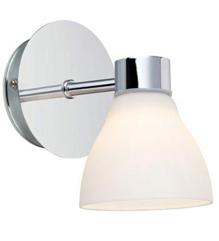 Chromowany kinkiet do oświetlenia lustra w łazience Cassis IP44 G9