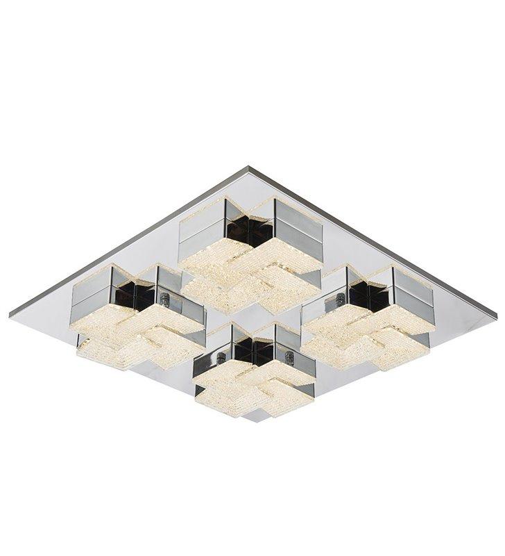 Kwadratowy nowoczesny plafon Clarise 500 LED