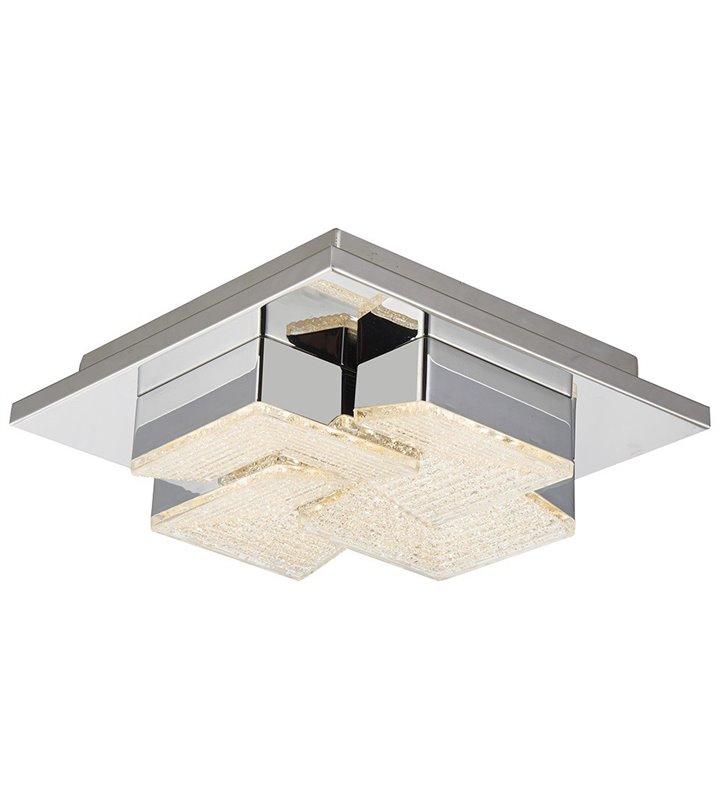 Nowoczesny kwadratowy plafon Clarise 220 LED