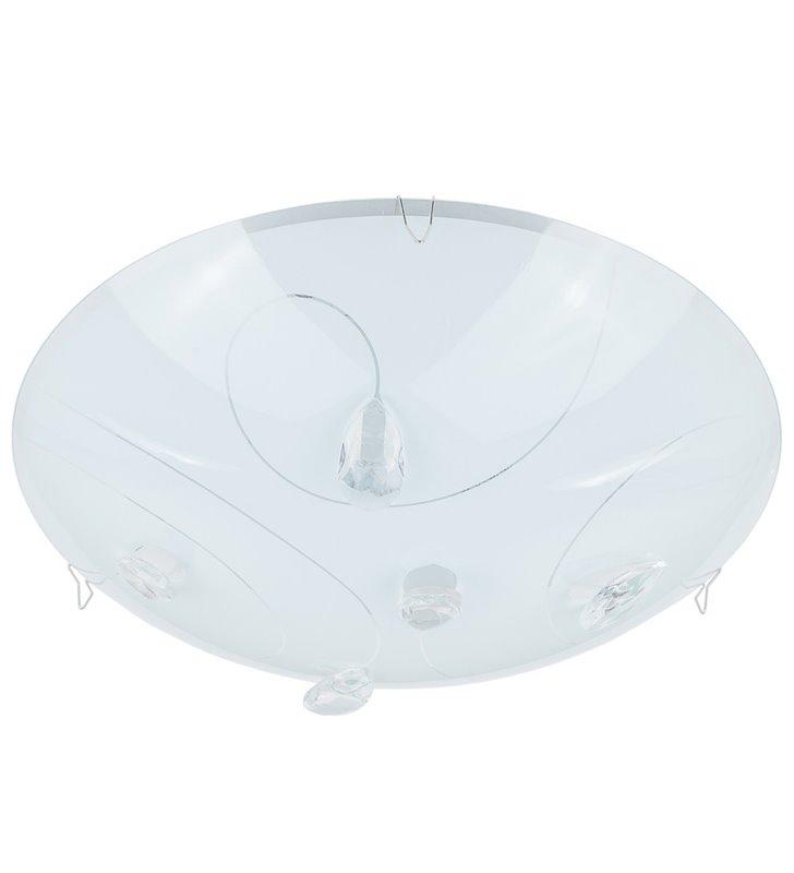 Ringo 250 okrągły plafon zdobiony kryształkami