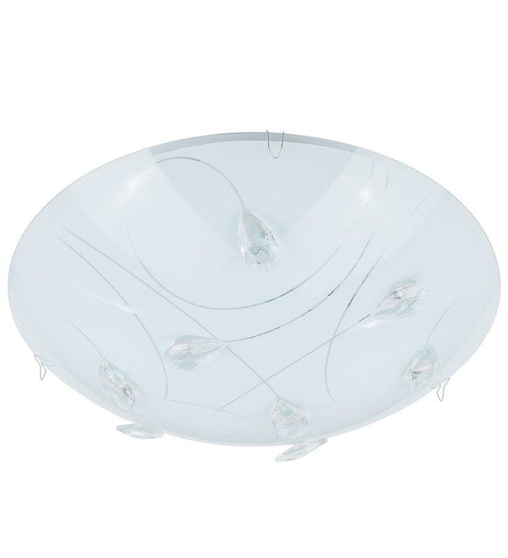 Ringo 300 okrągły plafon zdobiony kryształkami