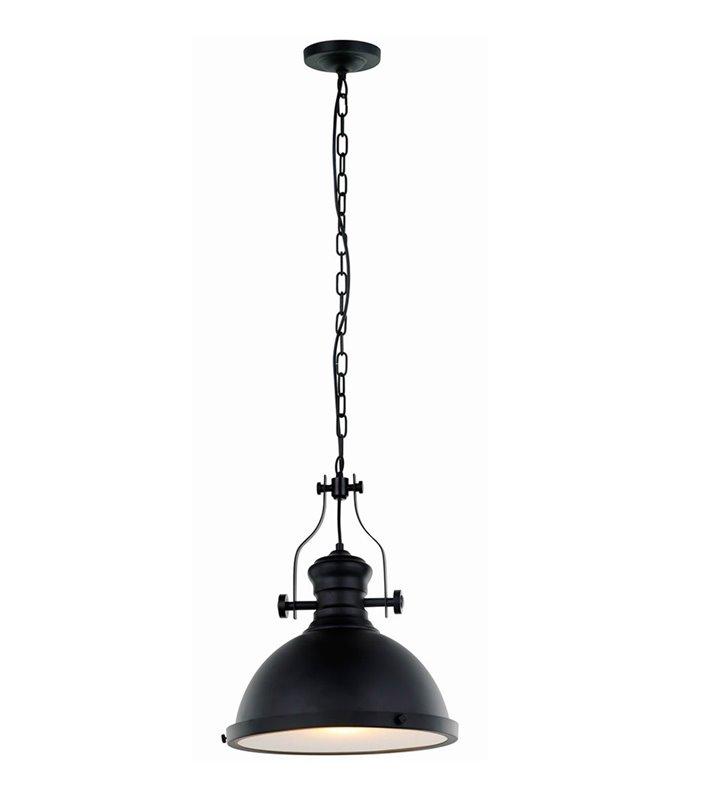Loftowa lampa wisząca Maeva czarna