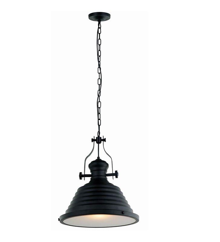 Maeva czarna loftowa lampa wisząca