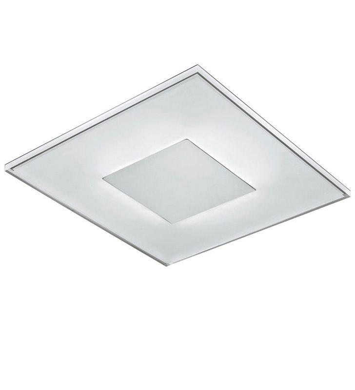 Plafon Maud 280 LED nowoczesny kwadratowy do sypialni salonu przedpokoju