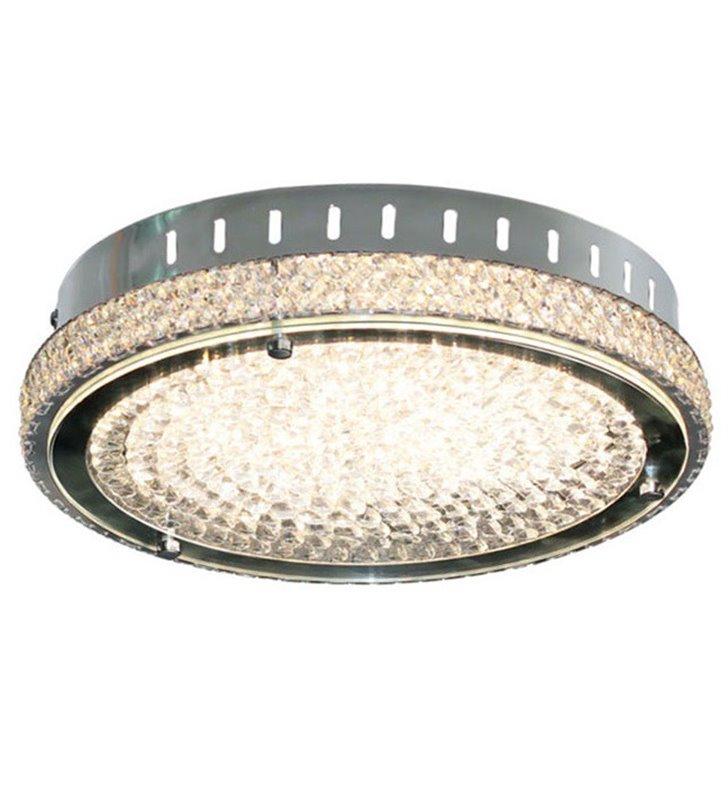 Plafon kryształowy Nino 300 LED okrągły dekoracyjny