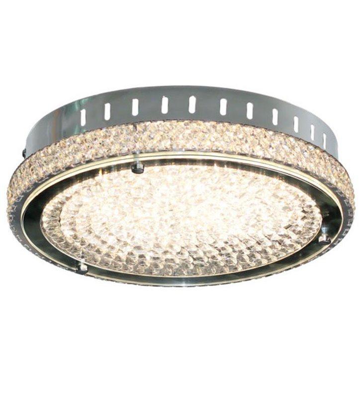 Plafon kryształowy Nino 400 LED okrągły dekoracyjny