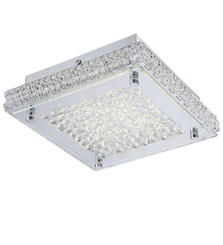 Plafon Nino 360 LED kryształowy kwadratowy dekoracyjny