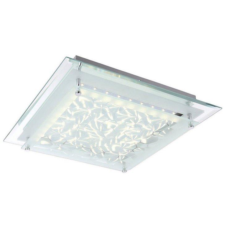 Plafon Penate 360 LED kwadratowy szklany